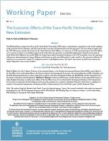 The Economic Effects of the Trans-Pacific Partnership