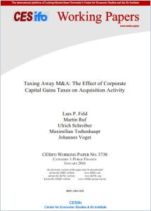 Taxing Away M&A summary