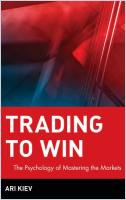 Trading to Win book summary