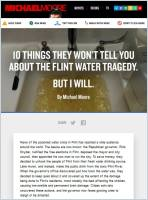 10 Things They Won't Tell You About the Flint Water Tragedy summary