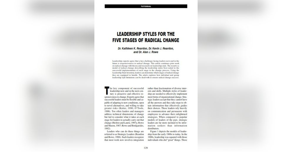 summary of my leadership style The leadership style used is contingent on factors such as the situation, quality of the followers or a number of other variables in this theory there is no one right.