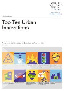 Top Ten Urban Innovations summary