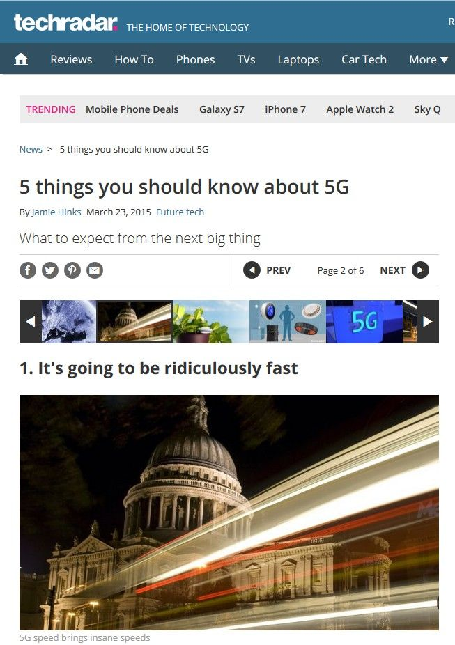 Image of: 5 Things You Should Know About 5G