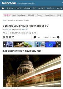5 Things You Should Know About 5G summary
