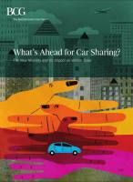 What's Ahead for Car Sharing? summary