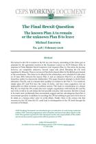 The Final Brexit Question