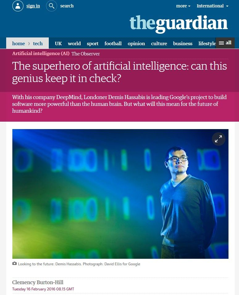 Image of: The Superhero of Artificial Intelligence