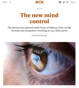 The New Mind Control summary