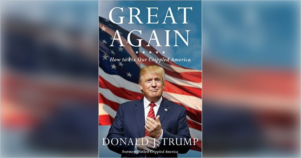a book analysis of donald trumps the art of the comeback Michael rapaport is not a fan of donald trump, we think, because he calls the  prez dick-stain donald trump, calls him a terrorist and says we.