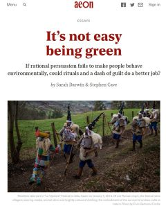 It's Not Easy Being Green summary