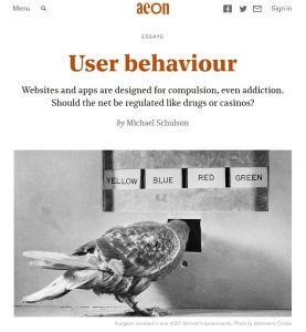 User Behaviour summary