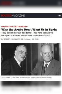Why the Arabs Don't Want Us in Syria summary