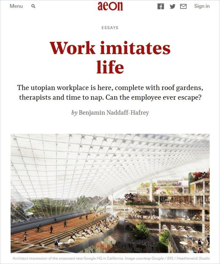 Image of: Work Imitates Life