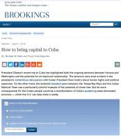 How to Bring Capital to Cuba summary
