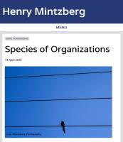 Species of Organizations summary