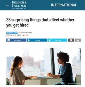 28 Surprising Things that Affect Whether You Get Hired summary