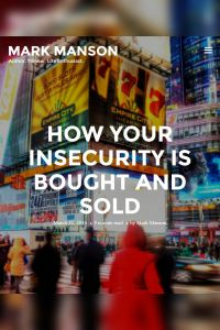 How Your Insecurity Is Bought and Sold summary
