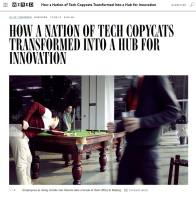 How a Nation of Tech Copycats Transformed Into a Hub for Innovation summary