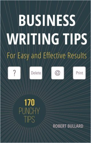 Image of: Business Writing Tips