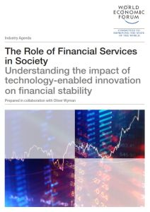 The Role of Financial Services in Society summary