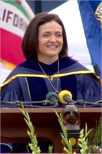 Image of: Sheryl Sandberg Gives UC Berkeley Commencement Keynote Speech
