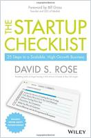 The Startup Checklist book summary