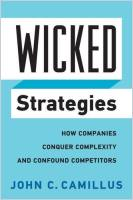 Wicked Strategies book summary