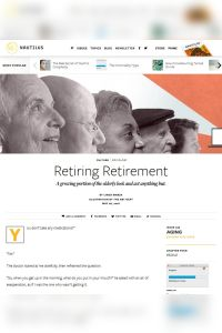 Retiring Retirement summary