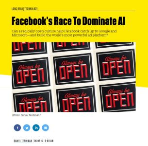 Facebook's Race To Dominate AI summary