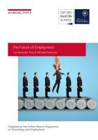 The Future of Employment summary