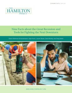 Nine Facts about the Great Recession and Tools for Fighting the Next Downturn