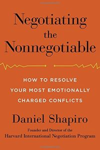 Negotiating the Nonnegotiable book summary