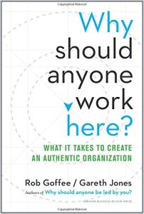 Why Should Anyone Work Here? book summary