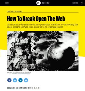 How To Break Open The Web summary