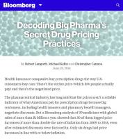 Decoding Big Pharma's Secret Drug Pricing Practices summary