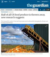 Half of All US Food Produce Is Thrown Away, New Research Suggests summary