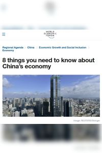 8 Things You Need to Know About China's Economy summary