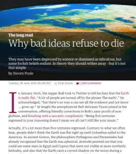Why Bad Ideas Refuse to Die