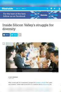 Inside Silicon Valley's Struggle for Diversity summary