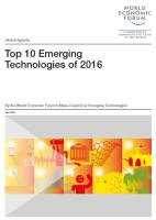 Top 10 Emerging Technologies of 2016 summary