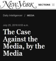 The Case Against the Media, by the Media summary