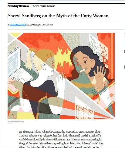 Image of: Sheryl Sandberg on the Myth of the Catty Woman