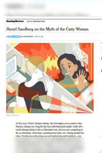 Sheryl Sandberg on the Myth of the Catty Woman summary