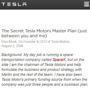 The Secret Tesla Motors Master Plan