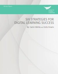 Image of: Six Strategies for Digital Learning Success