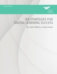 Six Strategies for Digital Learning Success summary