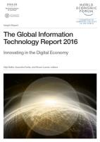 The Global Information Technology Report 2016 summary