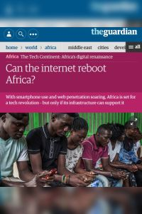 Can the Internet Reboot Africa? summary