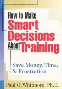 How to Make Smart Decisions About Training book summary
