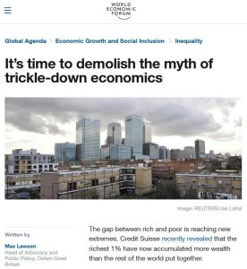 It's Time to Demolish the Myth of Trickle-Down Economics summary